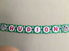 ****THIS BANNER IS FOR 6 LETTERS OR LESS!! EACH ADDITIONAL LETTER IS $1.00****  Your childs birthday party will be the Talk of the Town with this Disneys Pj Masks banner! ***This banner is a HAPPY BIRTHDAY and NAME banner in one!!***  Made with high quality, acid free, and lignin free cardstock. This particular banner is green with red letters. The colors and characters can be changed to match your theme at no additional charge. ****THIS BANNER IS FOR 6 LETTERS OR LESS!! EACH ADDITIONAL…