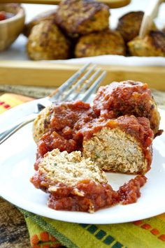Paleo Turkey Meatballs