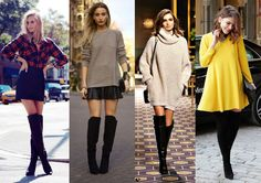 Botas acima do joelho - Over the knee boots