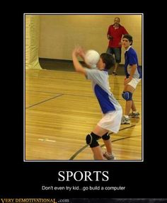 demotivational posters - SPORTS
