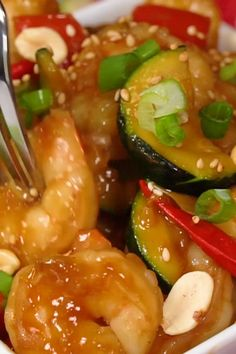 Best Easy Kung Pao Shrimp Recipe – a Chinese Food Takeout Copycat -tastes . - -The Best Easy Kung Pao Shrimp Recipe – a Chinese Food Takeout Copycat -tastes . Fish Recipes, Seafood Recipes, Asian Recipes, Mexican Food Recipes, Healthy Recipes, Easy Chinese Food Recipes, Chinese Shrimp Recipes, Chicken And Shrimp Recipes, Copycat Recipes