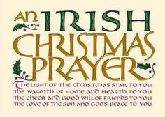 An Irish Christmas Prayer