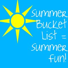Here are some great tips on creating a summer bucket list. Do you make a summer bucket list? What do you include on it?