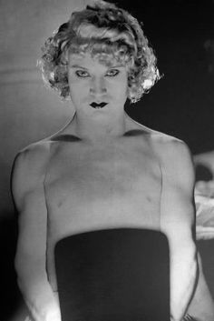 Barbette. by Man Ray.1926
