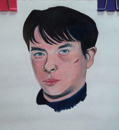 Dane dehaan prismacolor