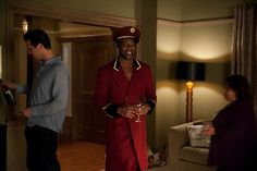 """Terrell Owen's shows off his """"Sergeant Peppers meets The Matrix"""" outfit. #GoOn"""