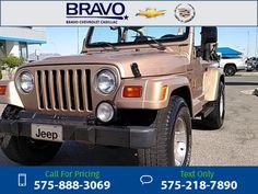 1999 Jeep Wrangler Sahara 121k miles Call for Price 121716 miles 575-888-3069 Transmission: Manual  #Jeep #Wrangler #used #cars #BravoChevroletCadillac #LasCruces #NM #tapcars
