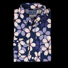 Blue Blue Japan Cherry Print