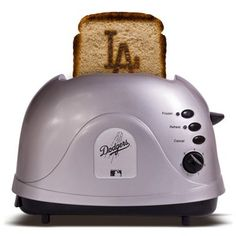 father's day! L.A. Dodgers Silver Team Logo Pro Toaster