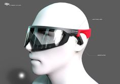 JP: sports eyewear design concept