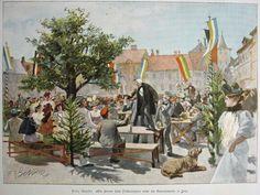 Studentika Frühschoppen Jena Stich V 1894   eBay