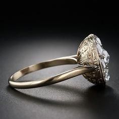 Georgian Rose Cut Diamond Cluster Ring.