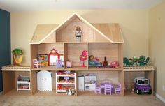 EEEP!!! When we move, we're building THIS!!! Designing & Building an American Girl Doll House