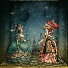 parasol 18 th century | 18th century, art, fashion, parasol, pretty - inspiring picture on ...