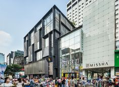 Image 5 of 56 from gallery of M Plaza / Manifesto Architecture. Photograph by Kyungsub Shin
