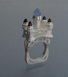 Castle Ring by WearableByDesign.deviantart.com on @deviantART