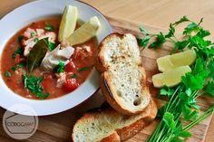 Zupa rybna z owocami morza | Frutti di mare soup http://www.codogara.pl/10881/zupa-rybna/