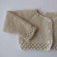 """diy_crafts- Tras el Punto de Paula """"This post was discovered by Ine"""", """"Ravelry: t-a-n-y-a's Top-Down"""", """" Learn more top down knitting"""" Baby Knitting Patterns, Easy Sewing Patterns, Knitting For Kids, Baby Patterns, Baby Cardigan, Cardigan Bebe, Baby Pullover, Diy Crafts Knitting, Knit Headband Pattern"""