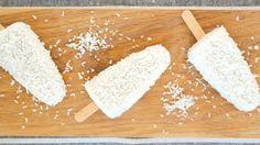 1 boks kokosmelk 1 stk. vaniljepulver 2 ss lønnesirup 1 ss kokosmasse, tørket