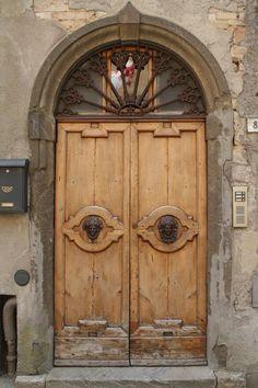 A Portal In Volterra, Tuscany
