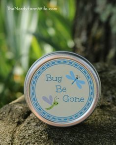Bug Be Gone Salve Recipe With Free Printable Labels