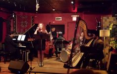 Another great evening of jazz from Fifth Season Quartet... this time, last night at Lilypad in Cambridge.