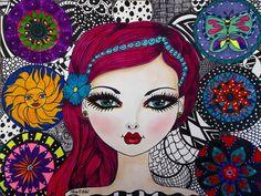 """ALYSSA"" by Mary R. Artist."