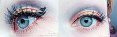 Sailor Venus inspired makeup by http://stadtprinzessinnessa.blogspot.de/2015/10/sailor-venus-blogparade-makeup.html