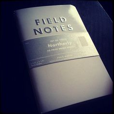 I'm a Field Notes junkie.  I always have a small stack of them at the ready.  I always have a dog-eared notebook in my pocket.  I like to write down my thoughts and sketch out my ideas.  I prefer the graph paper.