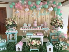 Image may contain: 1 person Garden Party Decorations, Birthday Party Decorations, Baby Shower Decorations, Butterfly Birthday Party, Garden Birthday, Prince Birthday Party, 2nd Birthday Parties, Easter Party, Baby Party