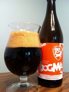 BrewDog Dogma (Scotch Ale) Dark as stout. Aroma of malts, fruits, honey, resin. Taste of malt - rich and delicious. Sweet and fruity. Bitter aftertaste