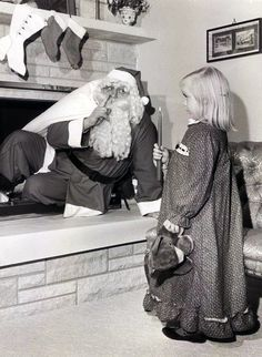 Someone catches Santa.