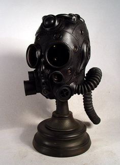 Steampunk masks by Bob Basset