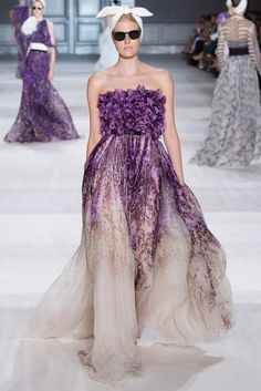 ZsaZsa Bellagio – Like No Other Giambattista Valli Haute Couture Fall-Winter 2014-2015 Paris Fashion Week