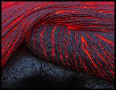Folding Lava – Kilauea, Hawaii