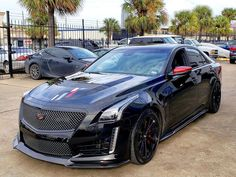 Championship edition CTSV owned by who else thinks that we should be able to get the red leather interior in the regular CTSV… Cadillac Cts Coupe, Cadillac Escalade, Super Sport Cars, Cool Sports Cars, Dropped Trucks, Dodge Muscle Cars, Lux Cars, Car Badges, Weird Cars