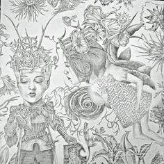 Lori Field - drawing