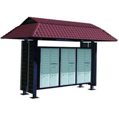 Multi-unit mailboxes, commercial mailboxes