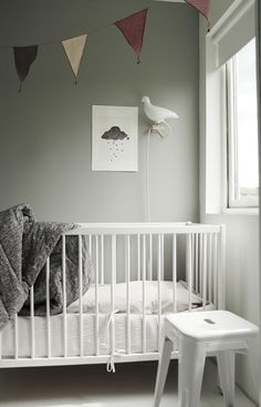 How To Decorate a Baby's Room -- contains good tips for starting from scratch on decorating any space, really