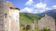 Himara an der Adriaküste von Albanien