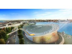 Entries to the Guggenheim Helsinki Competition Online Source: architecturalvisualisation