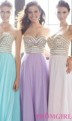 Prom Dresses, Plus Size Dresses, Prom Shoes -PromGirl   : Strapless Sweetheart Madison James Dress