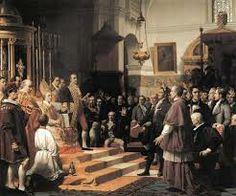 Inauguración de las Cortes de la Real Isla de León en 1810, en la Iglesia Mayor de San Fernando (Cádiz)