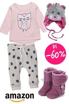 Der Amazon Fashion Sale ist da: ihr bekommt jetztim SALEbis zu 60% Rabatt auf Mode und Schuhe. In der Kategorie Babymode und Babyschuhe sind für Jungs und Mädchen viele niedliche Teile stark reduziert. Mit dabei sind beliebte Marken wie Esprit, Name it, Steiff, Sterntaler, S.Oliver, Tom Tailor, Lo