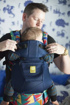 LILLEbaby The Guncles Airflow - love that is transitions for cold or hot weather AND benefits a great cause!