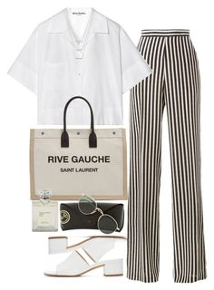 """Untitled #11695"" by nikka-phillips ❤ liked on Polyvore featuring Etro, Acne Studios, Yves Saint Laurent, Maryam Nassir Zadeh, ERTH and Ray-Ban"