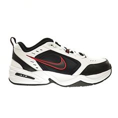 Nike Air Monarch IV 4E ExtraWide Mens Shoes WhiteBlackVarsity Red 416355101 10 4E US >>> Check out this great product.