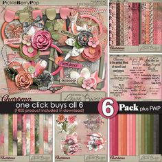 Charisma Collection ~ 6-Pack PLUS FWP by Laura Burger