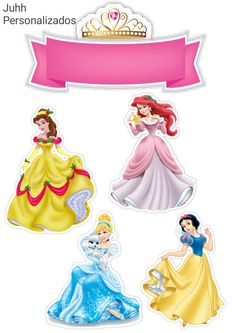 Disney Cake Toppers, Princess Cupcake Toppers, Princess Cupcakes, Birthday Cake Toppers, Disney Princess Castle, Disney Princess Birthday, Princess Party Favors, Frozen Theme Party, Disney Png