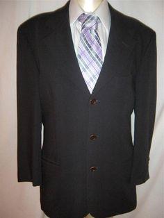 202c4fc64 HUGO BOSS Men's 100% Wool Short Jacket Three Button Blazers & Sport Coats |  eBay